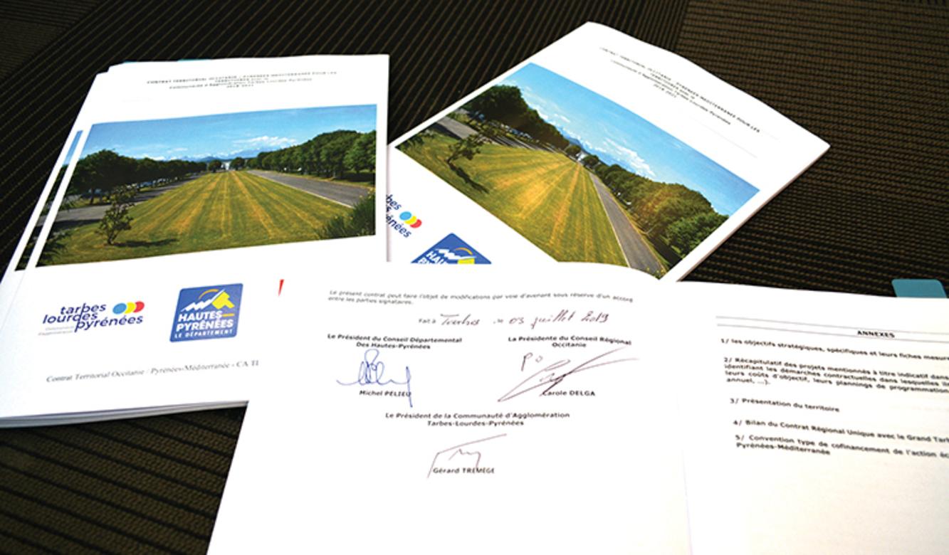 Signature des Contrats Territoriaux Occitanie