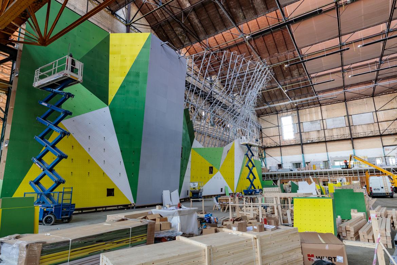 Visite du chantier du bâtiment 313 de l'Arsenal à Tarbes : l'Usine