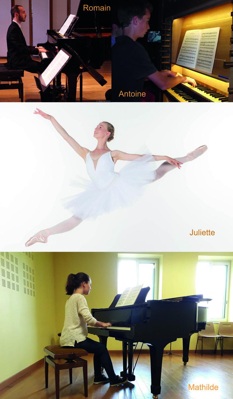 Parcours musical et chorégraphique...