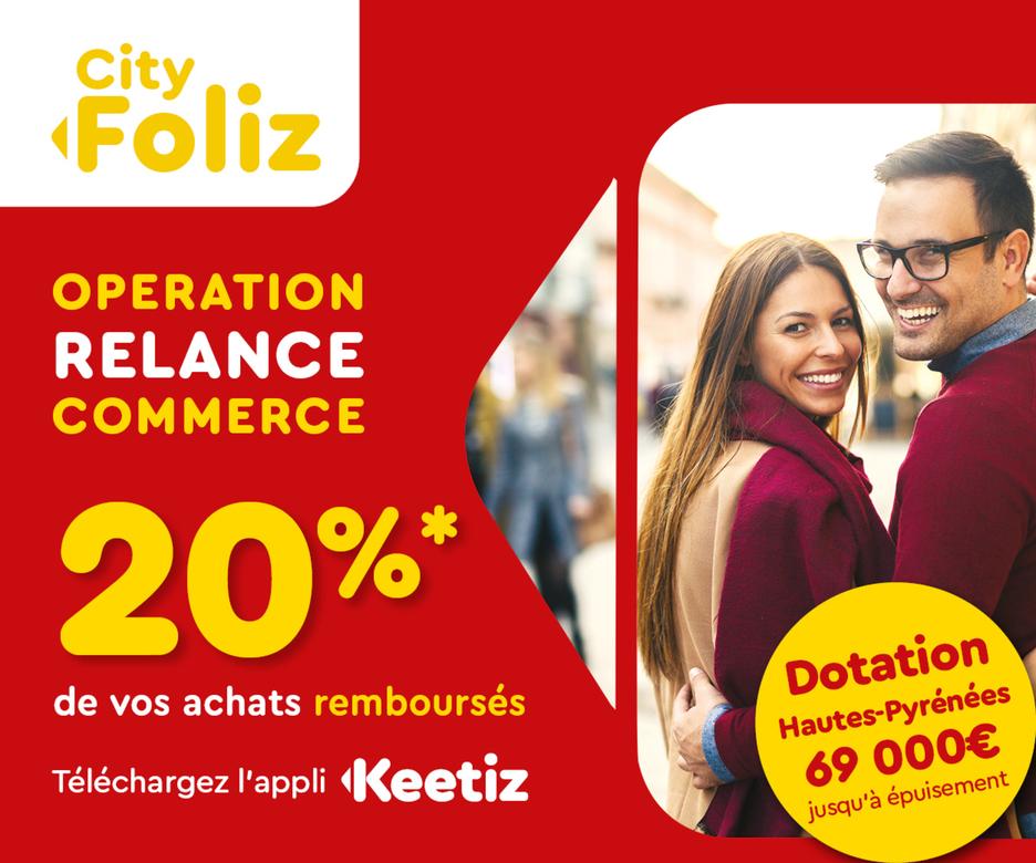 L'opération CityFoliz prolongée jusqu'au mois de mars 2021