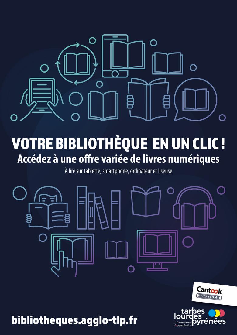 Profitez de l'offre numérique des bibliothèques depuis votre domicile !