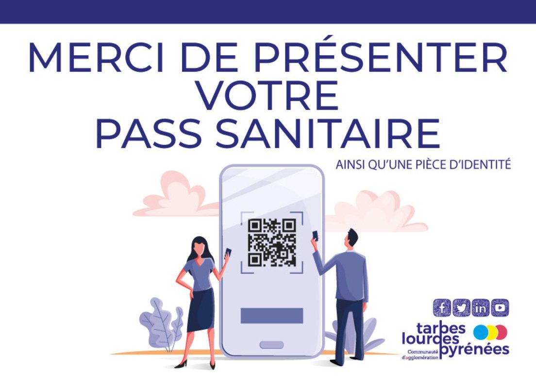 Pass sanitaire obligatoire dans certains établissements de l'agglo