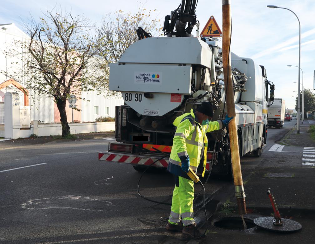 Information : Travaux de renouvellement du réseau d'assainissement à Séméac