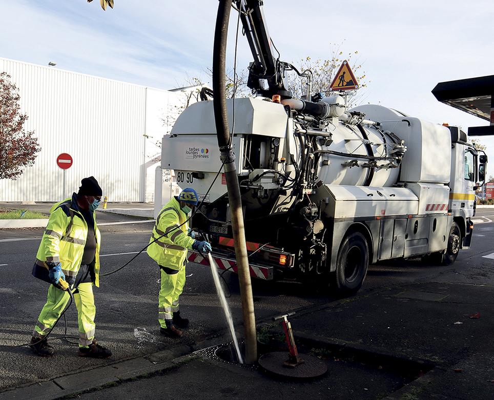 Information : Travaux de renouvellement de branchement au réseau  d'assainissement à Orleix