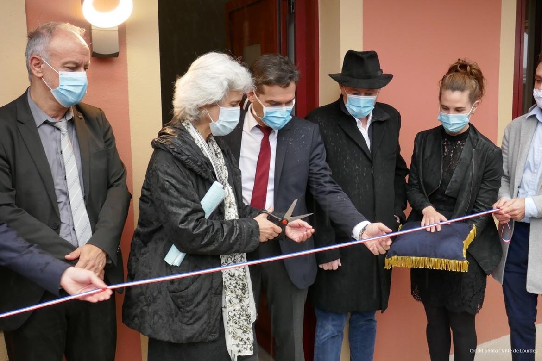 Le 1er projet habitat financé par les partenaires d'Action Cœur de Ville inauguré à Lourdes