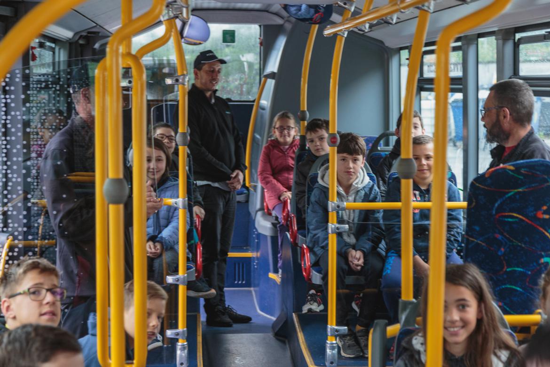 A la découverte des bus Alezan