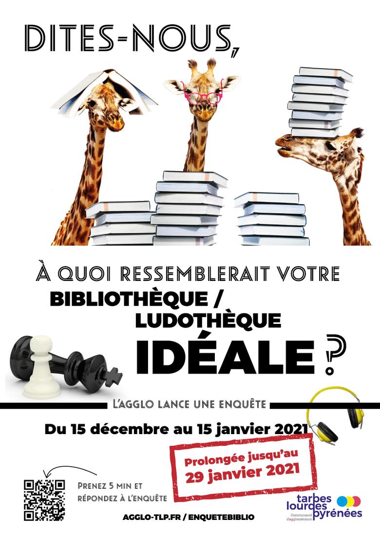 [PROLONGÉE JUSQU'AU 29 JANVIER] Enquête : À quoi ressemblerait votre bibliothèque/ludothèque idéale ?