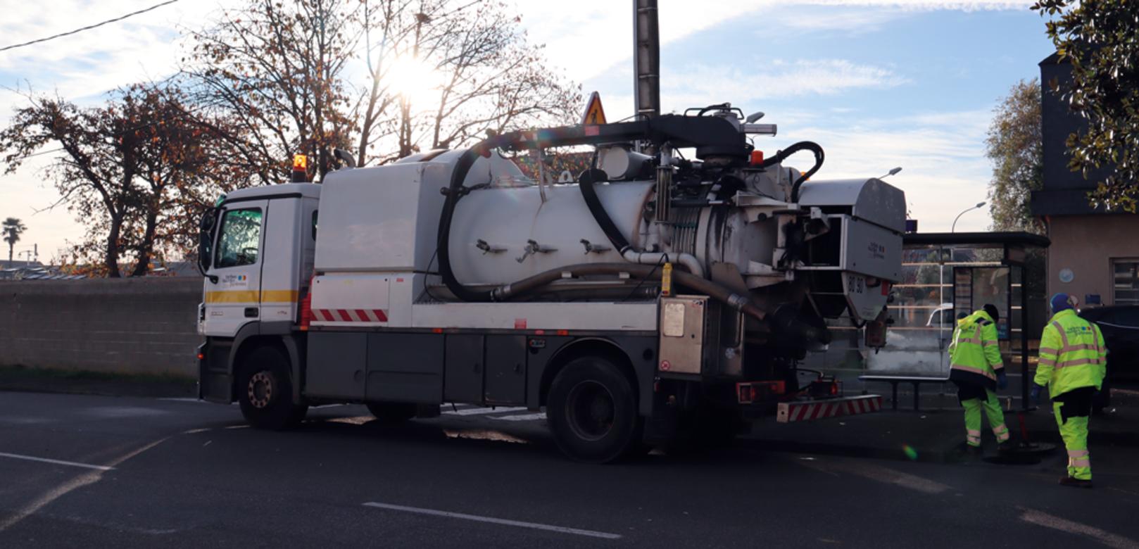 Information du Service communautaire de l'eau et de l'assainissement Travaux réseau d'eau potable à Lourdes