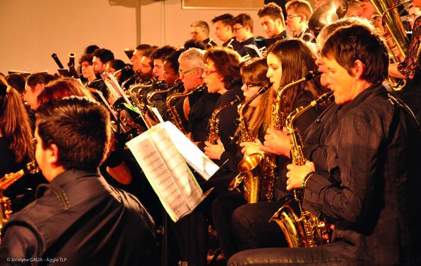 Reprise de l'orchestre d'harmonie des écoles de musique