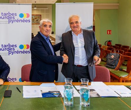 Signature avec le SMNEP de la convention de maîtrise d'ouvrage déléguée relative aux travaux d'interconnexion sur Ossun