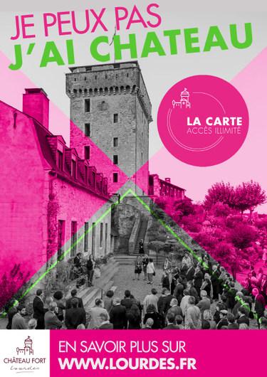 Lourdes : un accès illimité au Château !