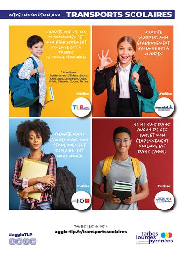 Prolongation Inscriptions en ligne Transports scolaire