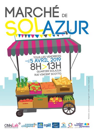 Nouveau : Le Marché de Solazur