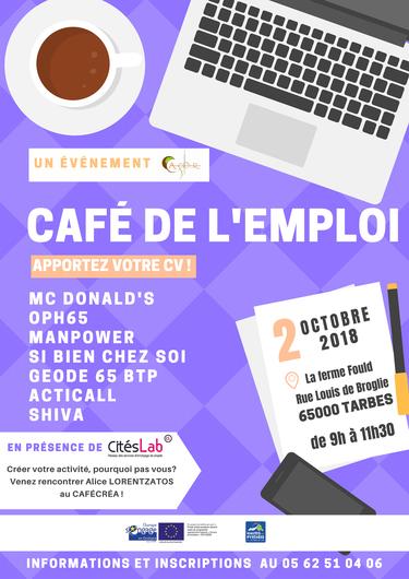 Café de l'emploi, Café créa