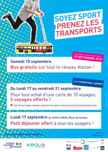 Le réseau de bus Alezan présente la semaine de la mobilité