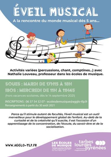 Le monde musical se découvre dès 5 ans avec les écoles de musique...