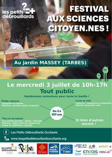 Rdv au festival aux sciences citoyen.nes !