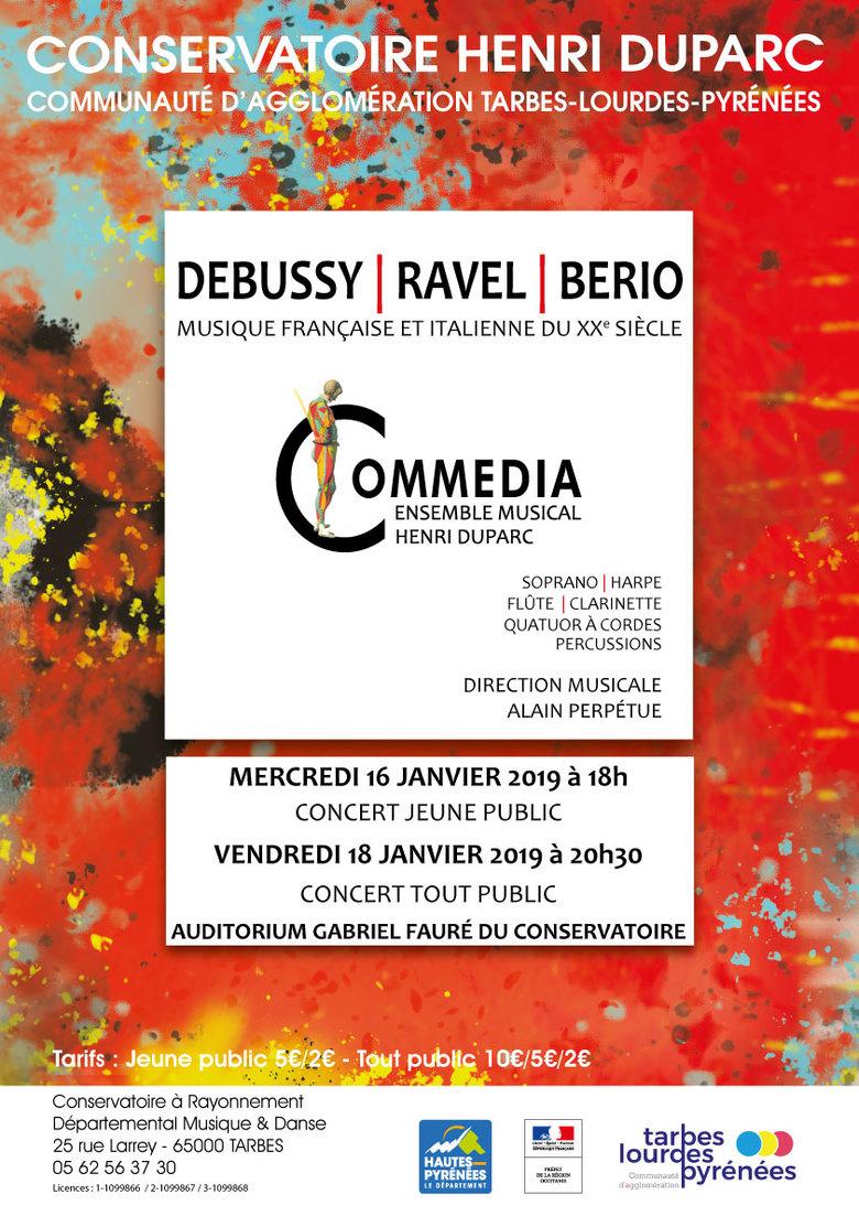 Concert Musique Française et Italienne du XXe siècle