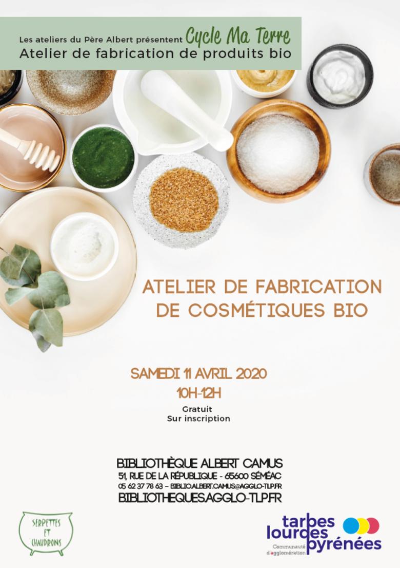 ANNULÉ Atelier de fabrication de cosmétiques bio
