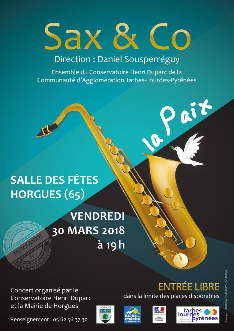 Concert Sax & Co - Conservatoire