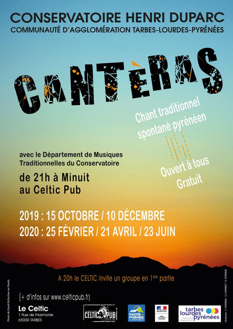 ÉVÉNEMENT ANNULÉ : Cantèras du Conservatoire