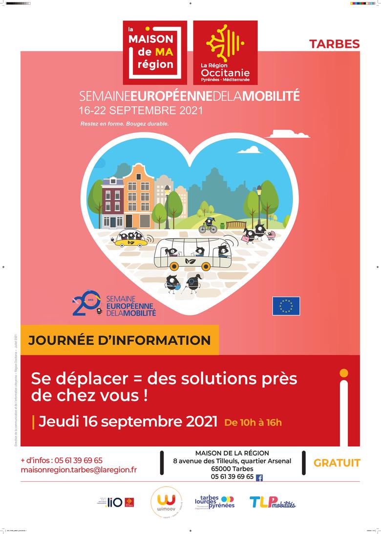 Journée d'information - Semaine européenne de la mobilité