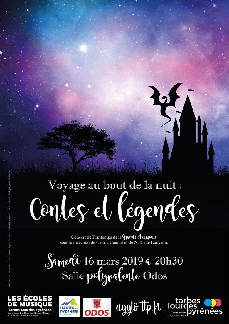 CONCERT Voyage au bout de la nuit : Contes et légendes