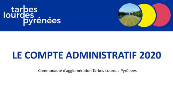 Comptes administratifs 2020