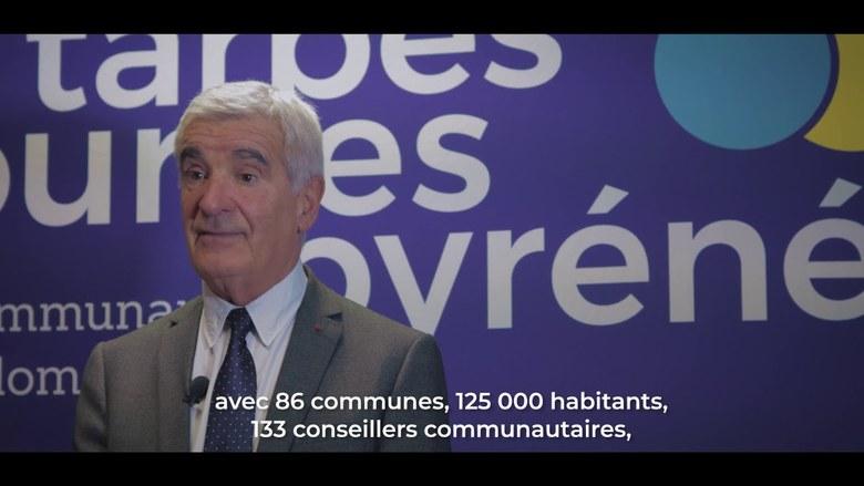 Gérard Trémège Président de la Communauté d'agglomération